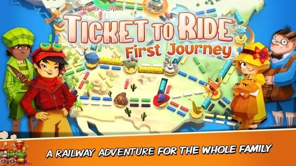 车票之旅初旅行手游中文版(Ticket to Ride: First Journey)