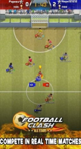 足球冲突全明星Football Clash截图1